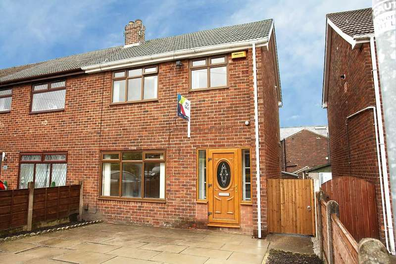 3 Bedrooms Town House for sale in Jordan Avenue, Shaw, Oldham