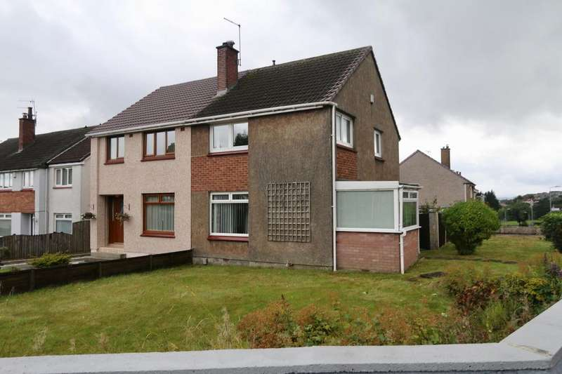 3 Bedrooms Semi Detached House for sale in 1 Breval Crescent, Hardgate, Clydebank G81 6NZ