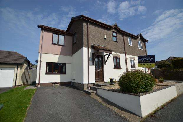 3 Bedrooms Semi Detached House for sale in Amal An Avon, Phillack, Hayle, Cornwall