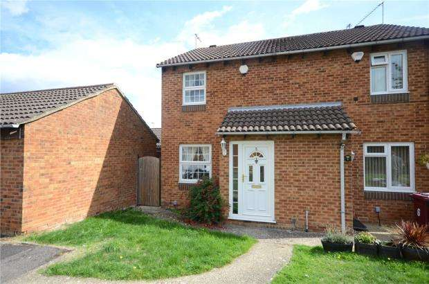 2 Bedrooms Semi Detached House for sale in Hornsea Close, Tilehurst, Reading