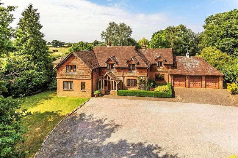 5 Bedrooms Detached House for sale in Shellwood Road, Leigh, Reigate, Surrey, RH2