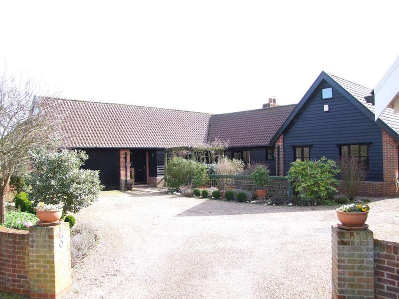 4 Bedrooms Detached Bungalow for sale in Benhall Green