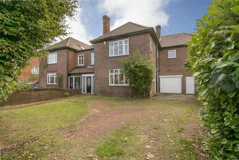 5 Bedrooms Semi Detached House for sale in Kenton Road, Gosforth, Newcastle upon Tyne
