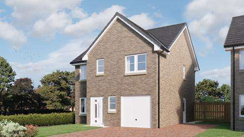 4 Bedrooms Detached House for sale in Borland Walk, Glassford, Strathaven, ML10 6LL