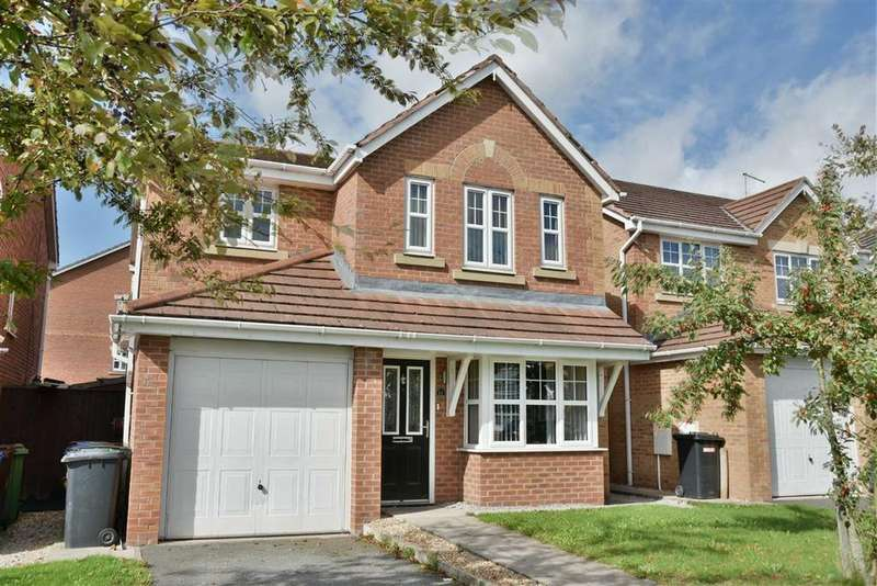 4 Bedrooms Detached House for sale in Longacre, Hindley Green