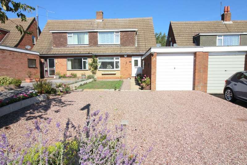 3 Bedrooms Semi Detached House for sale in Stanley Road, Streatley, Bedfordshire, LU3 3PW