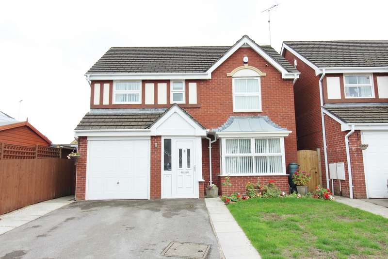 4 Bedrooms Detached House for sale in Laburnum Close, Rogerstone, Newport, NP10
