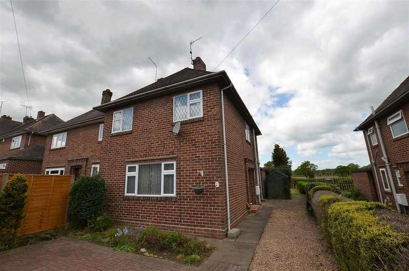 3 Bedrooms Semi Detached House for sale in Ferrers Crescent, Duffield, Derby