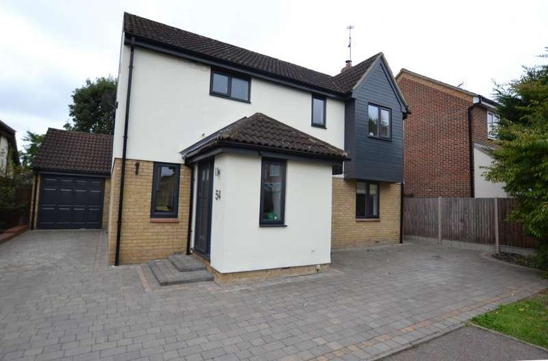 4 Bedrooms Detached House for sale in Lampern Crescent, Billericay, Essex, CM12