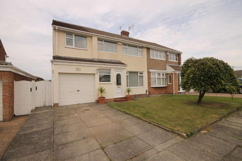 4 Bedrooms Semi Detached House for sale in Spalding Road, Fens, Hartlepool