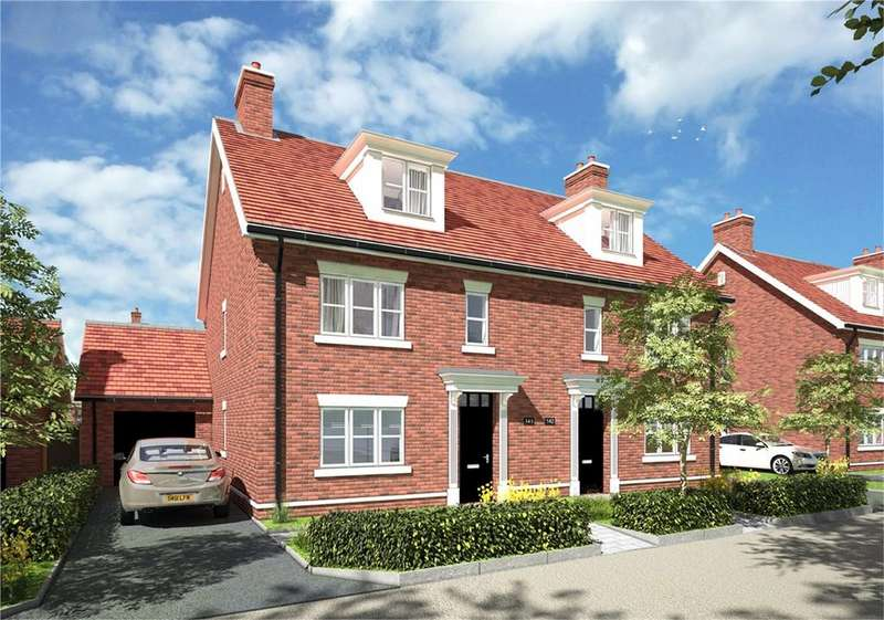 4 Bedrooms Semi Detached House for sale in Stoneham Lane, Eastleigh, Hampshire, SO50