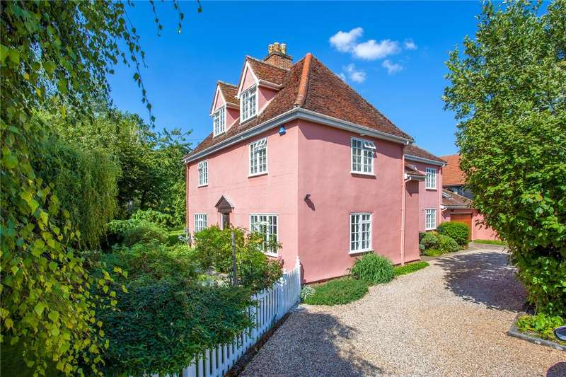 5 Bedrooms Detached House for sale in Chilten Street, Clare, Sudbury, Suffolk, CO10