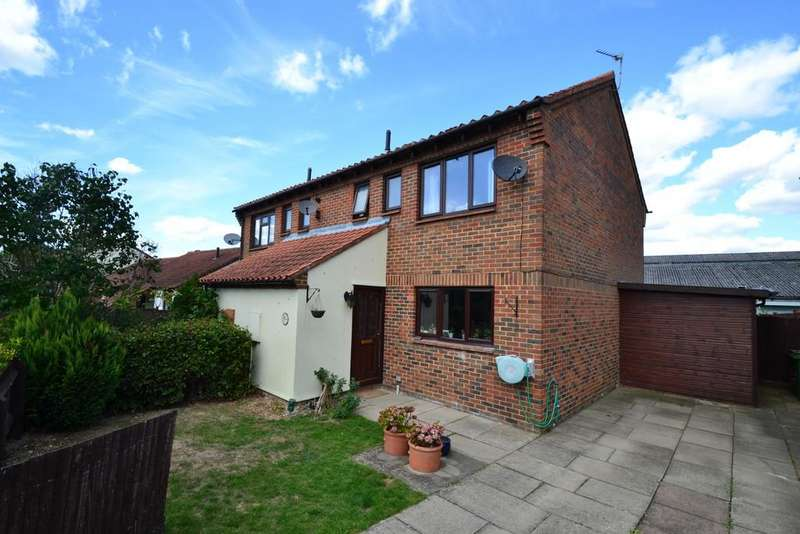 3 Bedrooms Semi Detached House for sale in Old Mill Furlong, Winslow