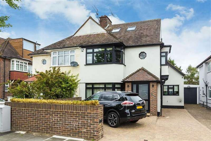 4 Bedrooms Semi Detached House for sale in Kenver Avenue, North Finchley, London