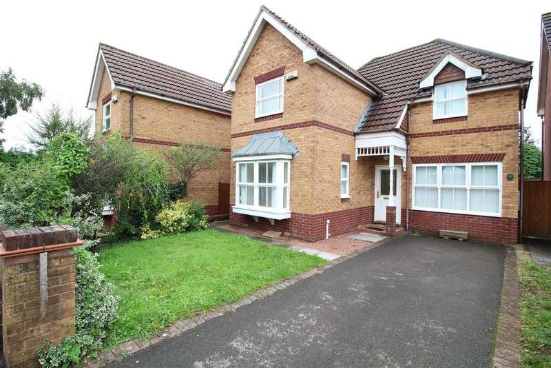 3 Bedrooms Detached House for sale in Groes Close, Rogerstone, Newport