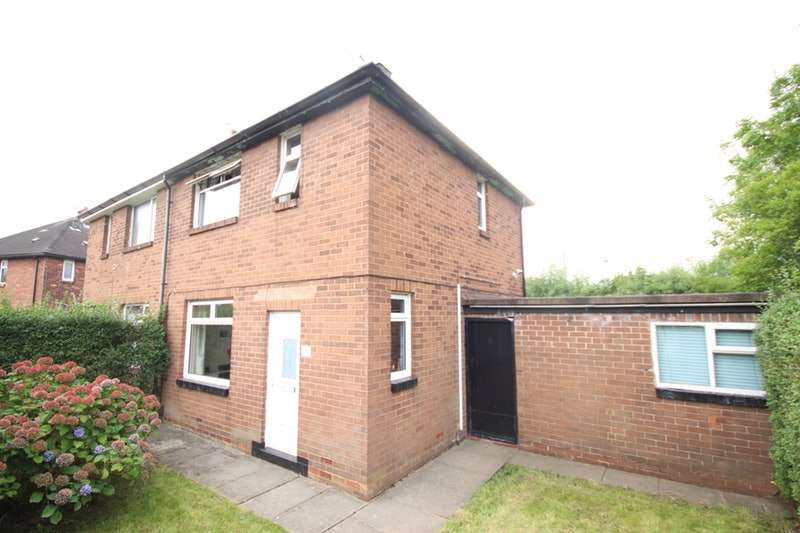 2 Bedrooms Semi Detached House for sale in Burns Close, Wigan, Greater Manchester, WN3