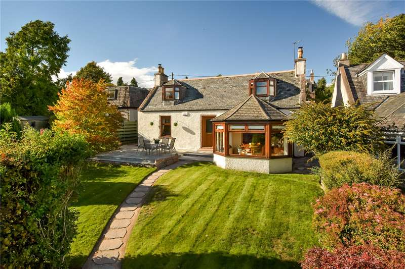3 Bedrooms Detached House for sale in Sunndach Cottage, 6 Arbeadie Terrace, Banchory, Aberdeenshire, AB31