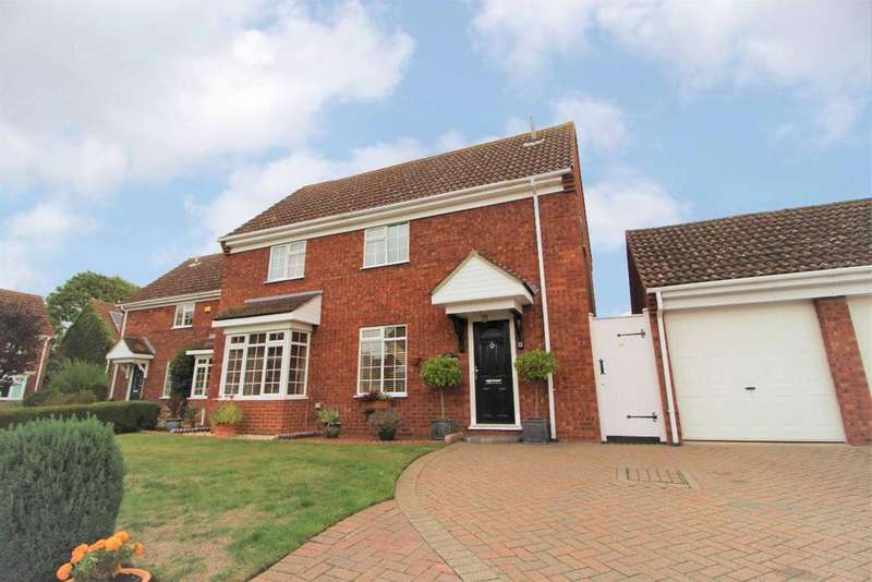 4 Bedrooms Detached House for sale in Chinnor Close, Bedford, MK41