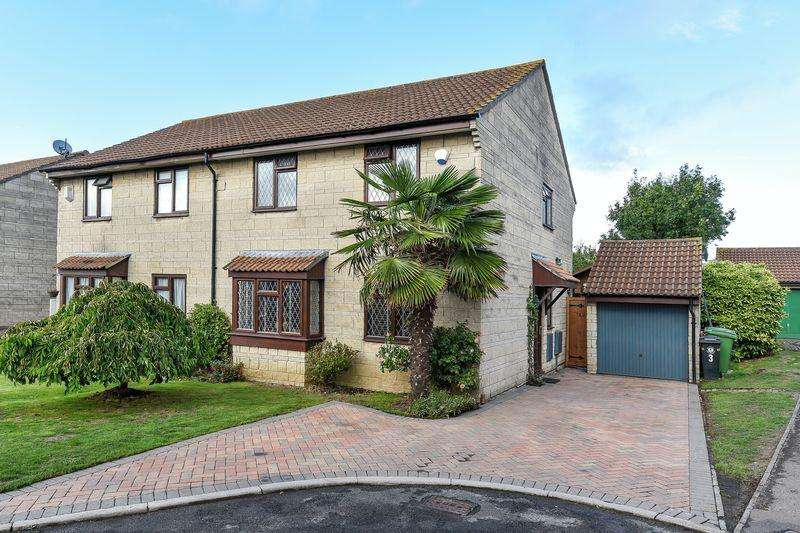 4 Bedrooms Semi Detached House for sale in Wye Croft Close, Bristol