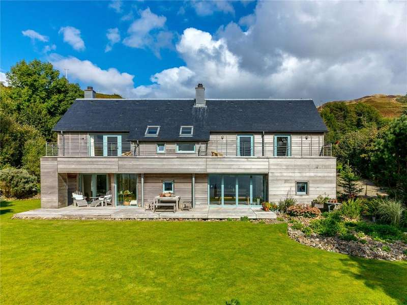 4 Bedrooms Detached House for sale in Shore House, Arduaine, Oban, Argyll, PA34