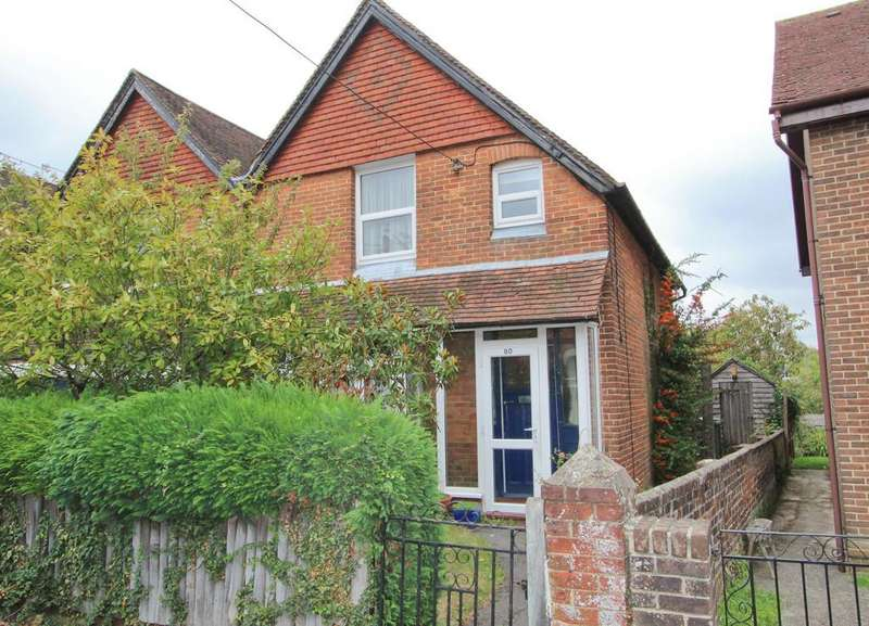 2 Bedrooms Semi Detached House for sale in Rushes Road, Hampshire
