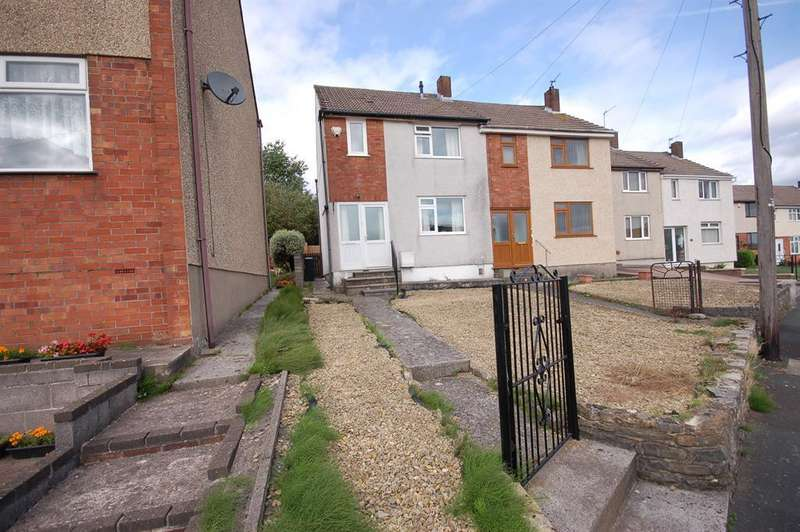 2 Bedrooms Semi Detached House for sale in Cotswold View, Kingswood, Bristol BS15 1TY