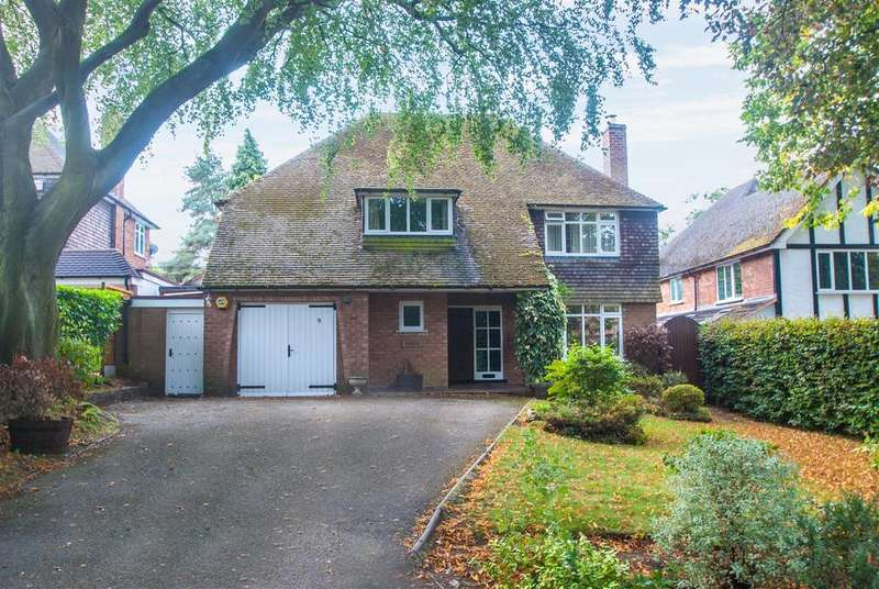 4 Bedrooms Detached House for sale in Holly Hill Road, Shenstone