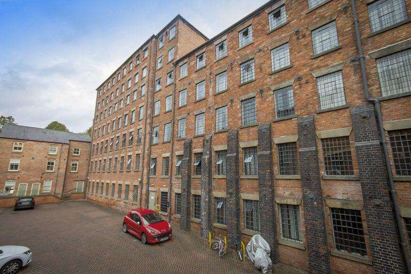 2 Bedrooms Apartment Flat for sale in ABELS MILL, BROOKBRIDGE COURT, DERBY