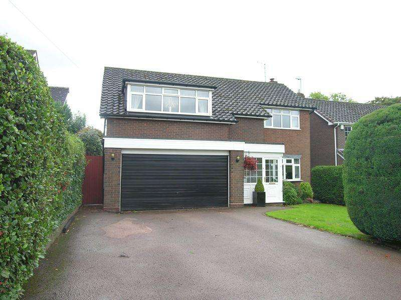 4 Bedrooms Detached House for sale in Beacon Road, Walsall