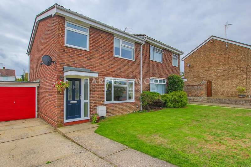 3 Bedrooms Semi Detached House for sale in Worcester Road, Colchester, CO1