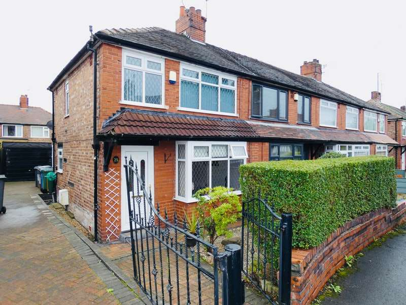 2 Bedrooms Semi Detached House for sale in Whitegate Avenue, Oldham, Greater Manchester, OL9