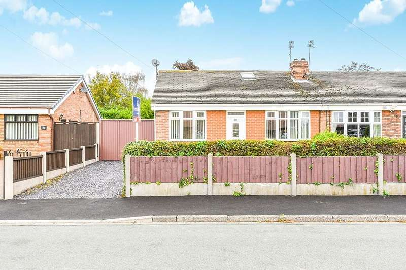 3 Bedrooms Semi Detached Bungalow for sale in Ash Lane, Widnes, WA8