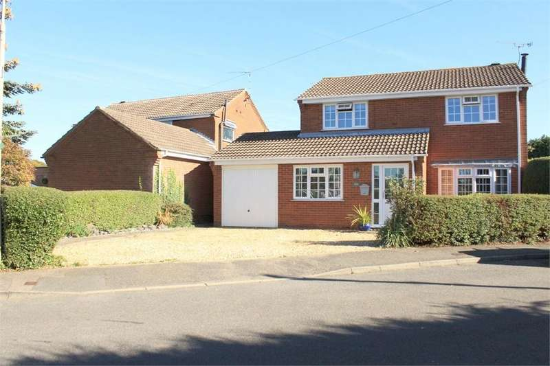 4 Bedrooms Detached House for sale in Marylebone Drive, Lutterworth, Leicestershire