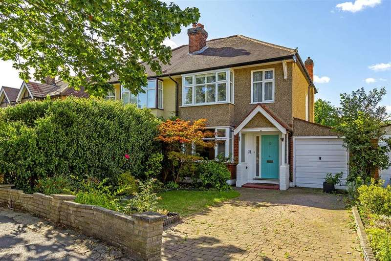 3 Bedrooms Semi Detached House for sale in Cranleigh Road, Merton Park