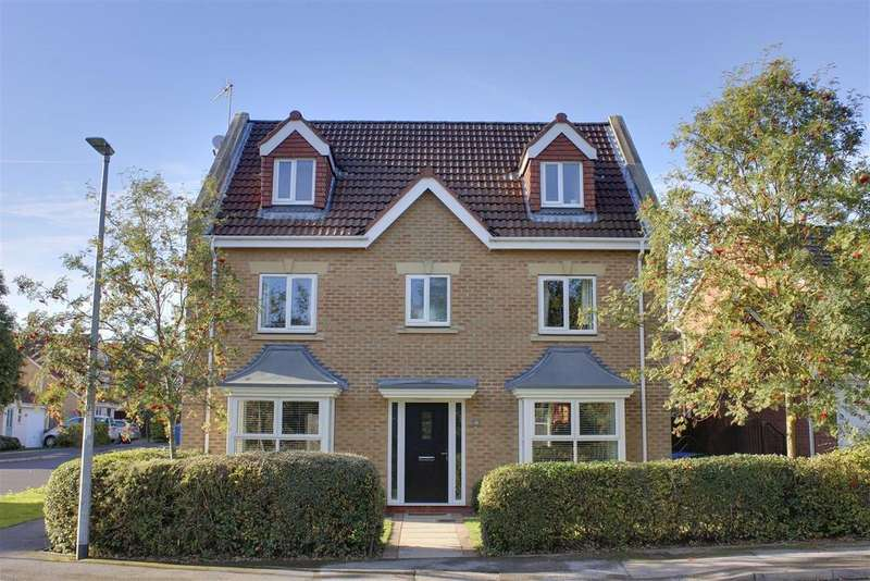 5 Bedrooms Detached House for sale in Acorn Way, Tranby Park, Hessle