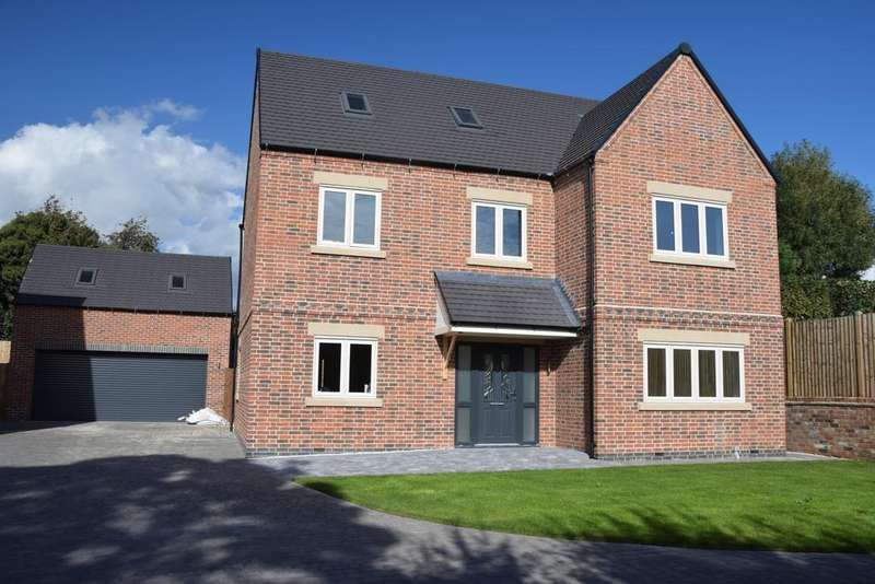 5 Bedrooms Detached House for sale in Worthington Lane, Newbold Coleorton, LE67