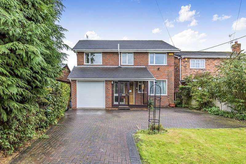 4 Bedrooms Detached House for sale in Macclesfield Road, Holmes Chapel, Crewe, CW4