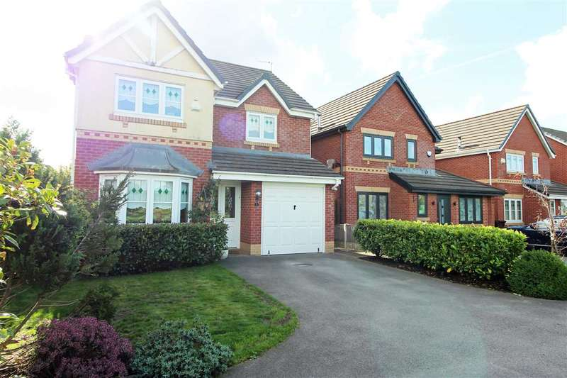 4 Bedrooms Detached House for sale in Caplin Close, Kirkby