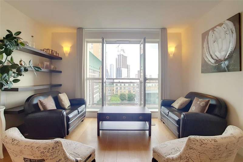 2 Bedrooms Flat for sale in Belgrave Court, Westferry Circus, London, E14