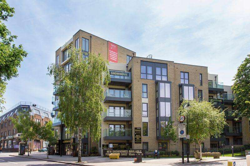 2 Bedrooms Apartment Flat for sale in Highgate Court,Bishops Road, Highgate,N6