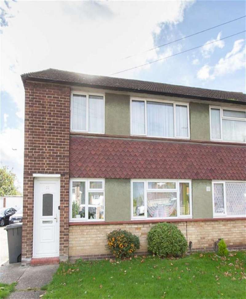 2 Bedrooms Maisonette Flat for sale in Common Road, Langley, Berkshire