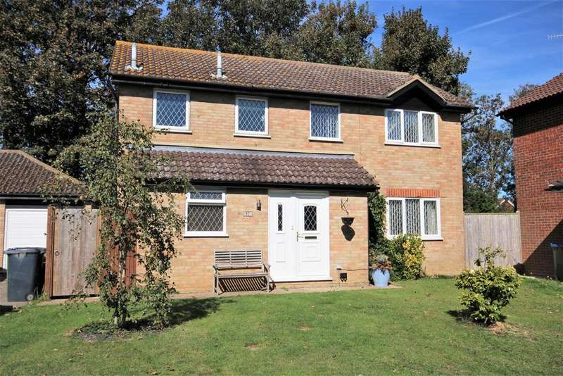 4 Bedrooms Detached House for sale in Benenden Close, Seaford
