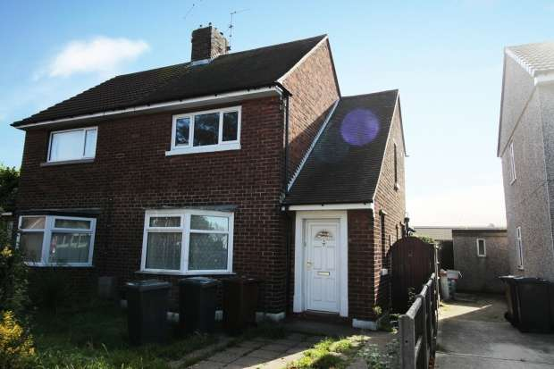 2 Bedrooms Semi Detached House for sale in Shannon Avenue, Lincoln, Lincolnshire, LN6 7JG