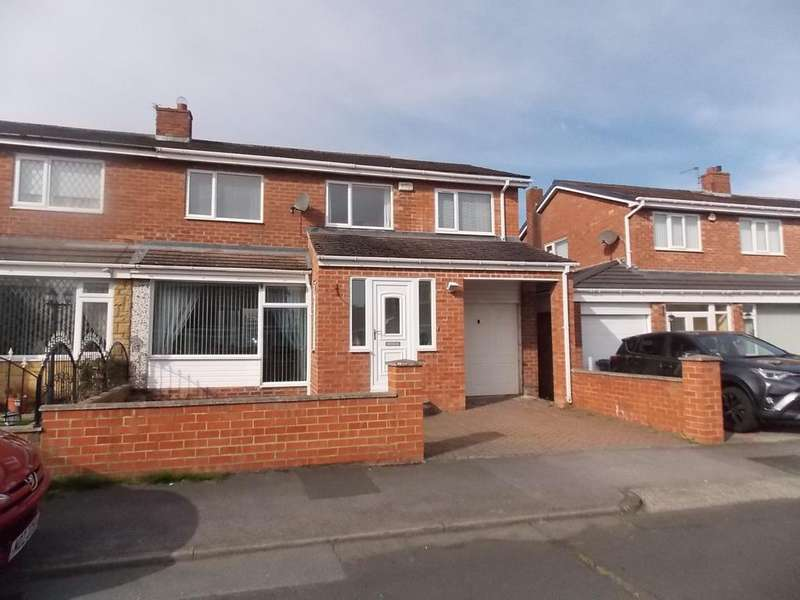 4 Bedrooms Semi Detached House for sale in Ardrossan, Ouston