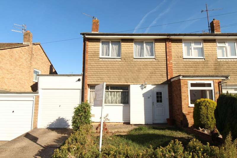 3 Bedrooms Semi Detached House for sale in Corinne Close, Reading, RG2 8AA