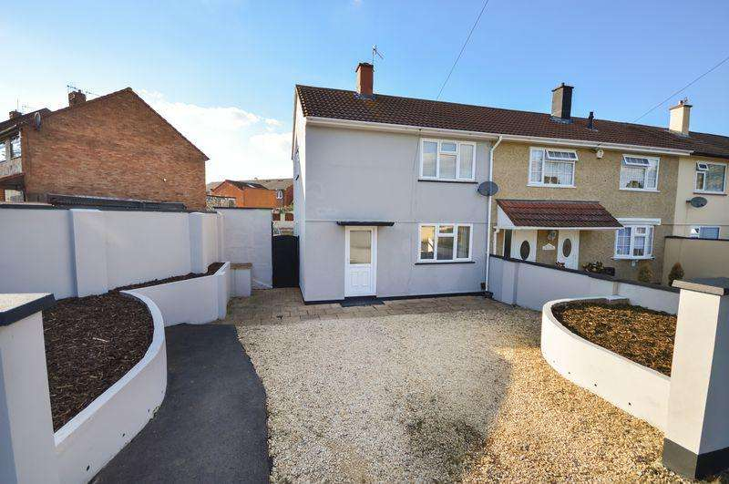 2 Bedrooms End Of Terrace House for sale in Blackthorn Road, Bristol