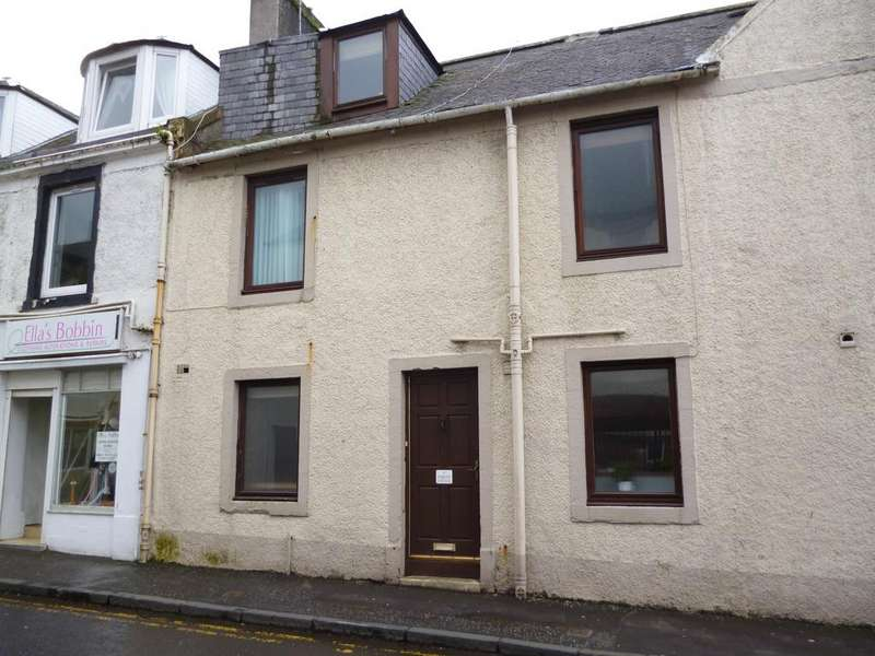 1 Bedroom Cottage House for sale in 4 Nelson Street, LARGS, KA30 8LW