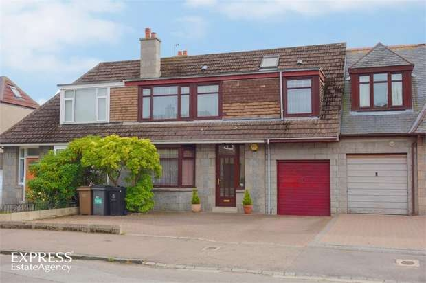 4 Bedrooms Terraced House for sale in Morningside Avenue, Aberdeen