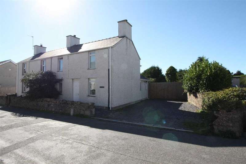 3 Bedrooms Semi Detached House for sale in Gwenallt, Dwyran