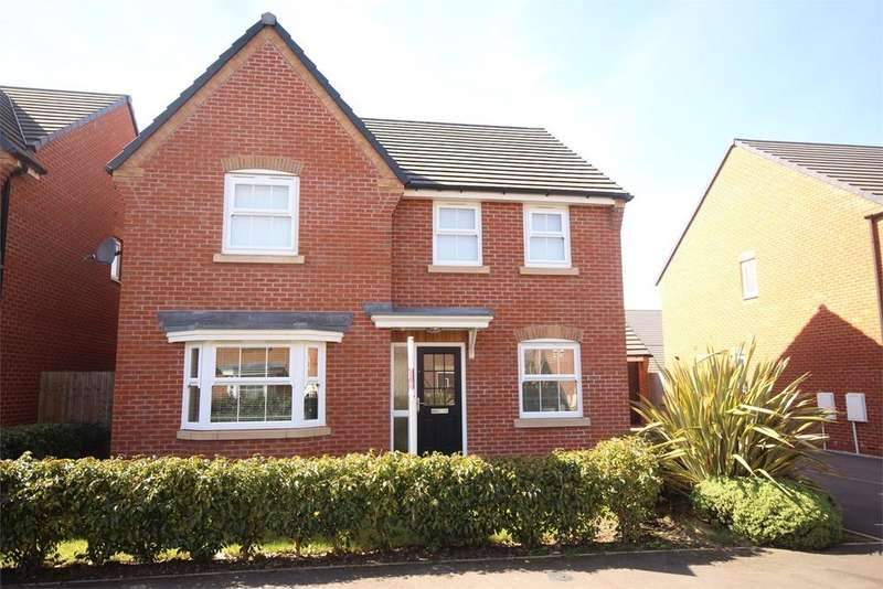 4 Bedrooms Detached House for sale in Ffordd Boydell, Connah's Quay, Deeside, CH5